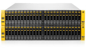 VMware private cloud with dedicated HP blades