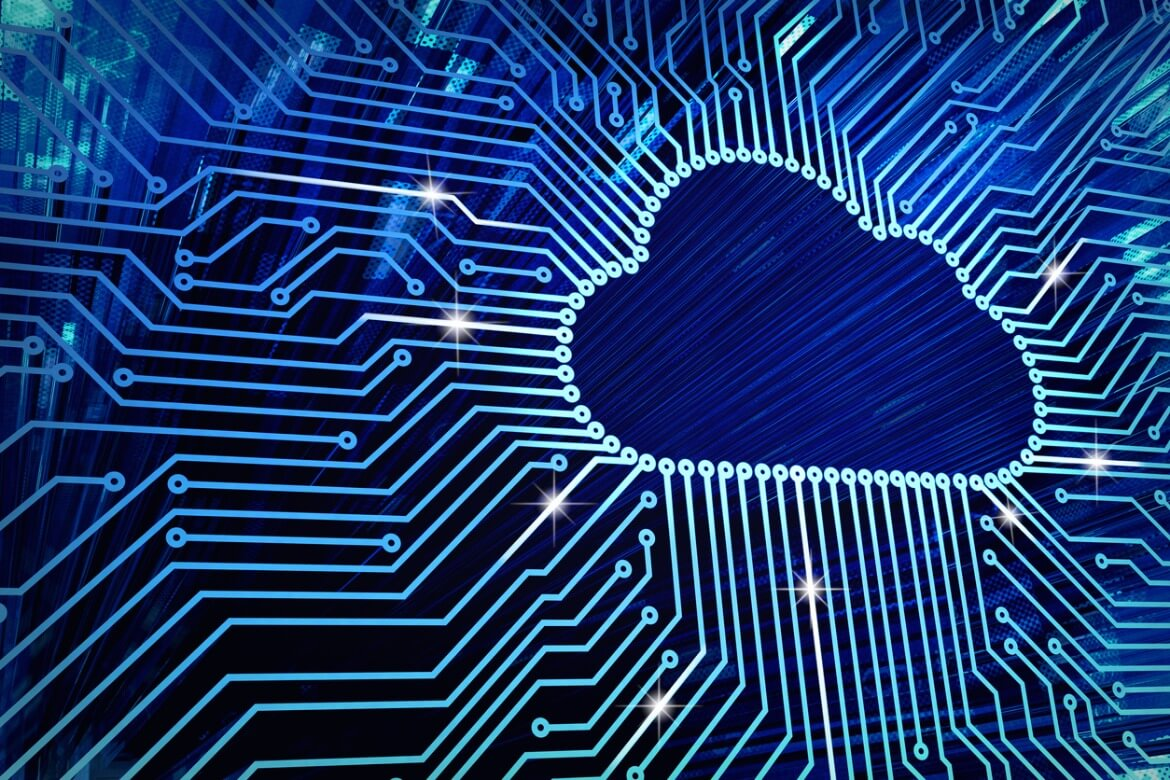 cloud-computing-and-network-security-technology-concept-picture-id846400236